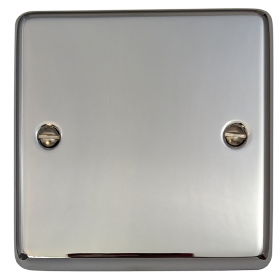 G&H Standard Plate Polished Chrome